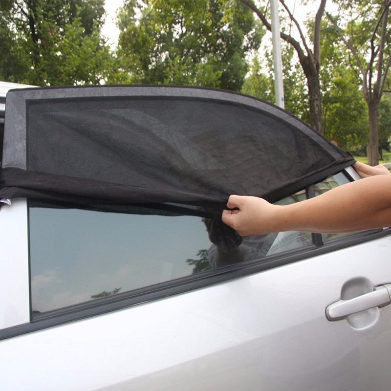 Universal Car Sun Shades Cover For Rear Side Window UV Baby  Kid Protection (1)