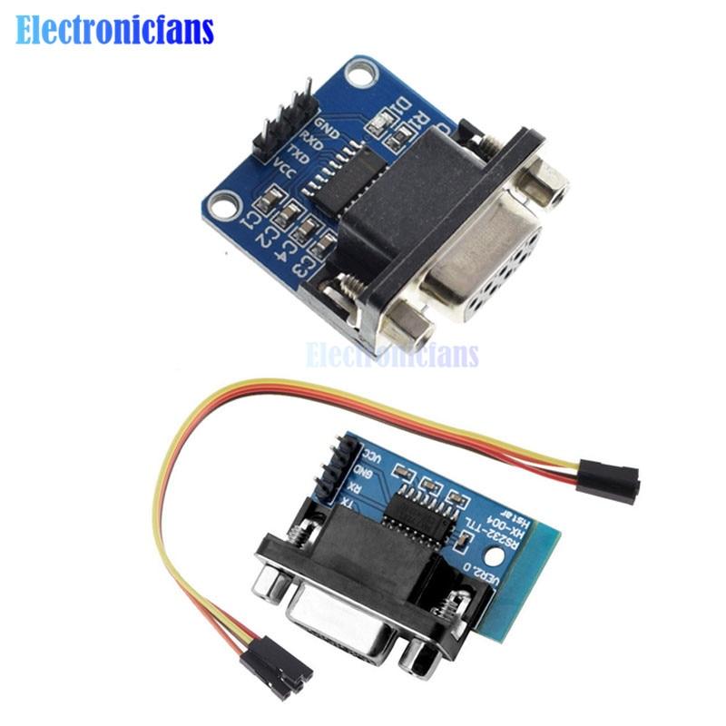 MAX3232-RS232-Serial Port To TTL··Converter Module Female DB9-COM Serial MAX232