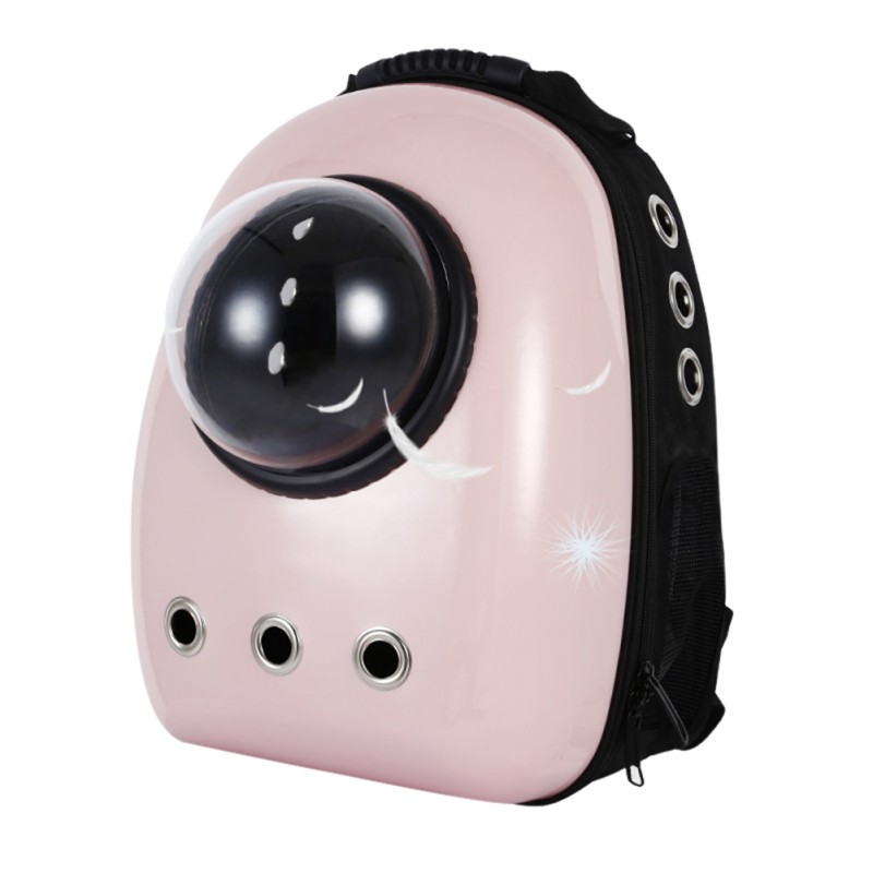 Space Capsule Astronaut Pet Cat Backpack Bubble Window for Chihuahua Kitty Puppy Small Dog Carrier Crate Outdoor Travel Bag Cave