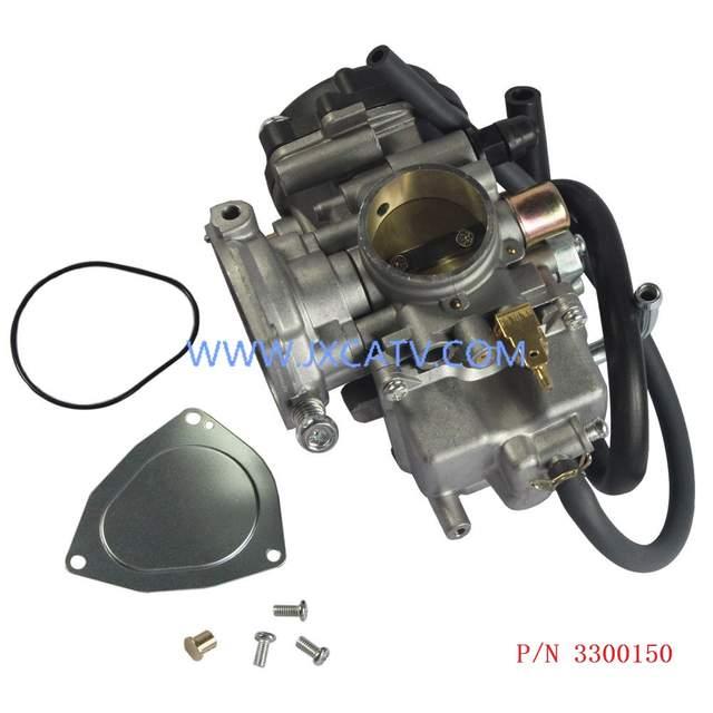 US $31 5  Carburetor Carb for Polaris Sportsman 500 & ARCTIC CAT ATV 250  300 2X4 4X4 GREEN RED & Bombardier Can Am OUTLANDER MAX 400-in ATV Parts &