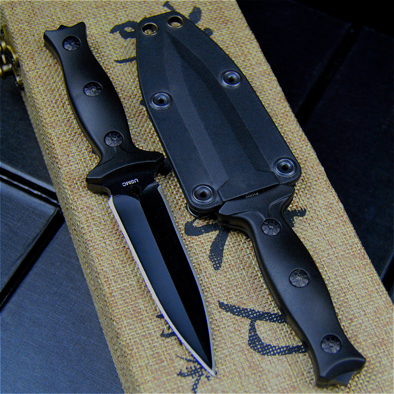 High Quality Steel Pocket Tactical Knives Fixed Blade Knife Survival Rescue Tools Hunting Knives Hunting Combat Outdoor Gear 1