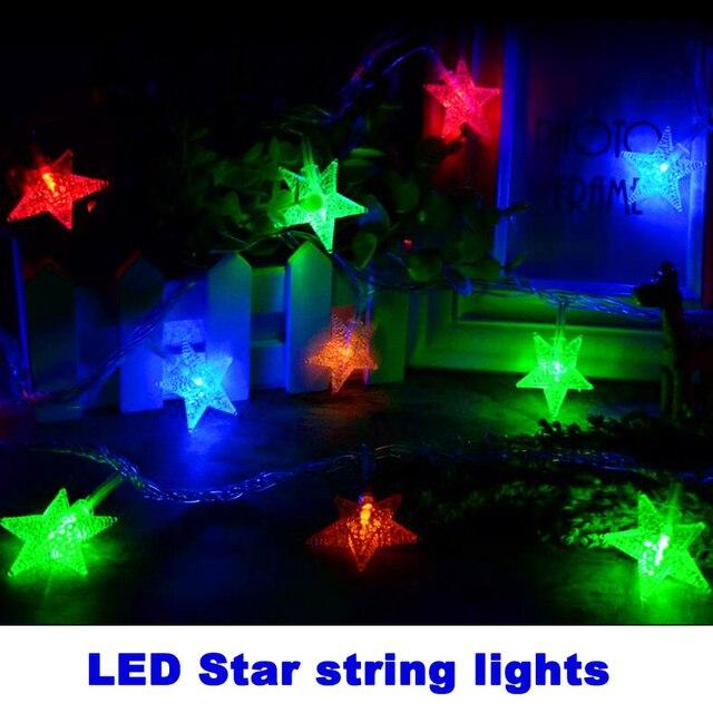 10m 100 bulbs star led string lights outdoor lighting string lamps 10m 100 bulbs star led string lights outdoor lighting string lamps fairy christmas lights garland wedding workwithnaturefo