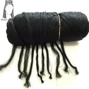 Image 4 - Desire für haar 5 bundles 70g pro bündel Brasilianische wolle haar low temprature flammschutzmittel kunstfaser flechten haar