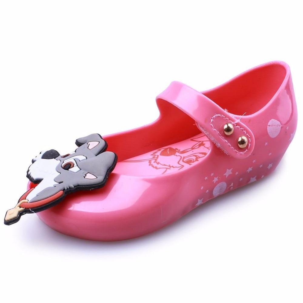 Melissa Original Brand Cute Jelly Sandals 2019 New Girls Mini Shoes Toddler Beach 13-18cm