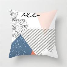 Fuwatacchi Tropical Print Home Decor Cushion Cover Cartoon Plant Cactus Pillow Cover Chair Sofa Home Decorative Pillows Case