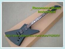 Esp Custom Shop Sonne Flammen Inlay James Hetfield JH2. Signature Gitarre Ken Lawrence Explorer E-gitarre & Kits Erhältlich