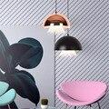 Постсовременная промышленная Скандинавская подвеска Медуза для столовой гостиной бара алюминиевая акриловая Подвесная лампа 30 см