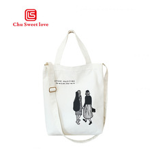High quality cloth printed ladies shopping bag reusable grocery multi-style high capacity folding bag,