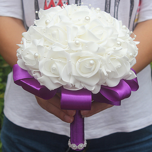 Foam Bridal Bouquet 3