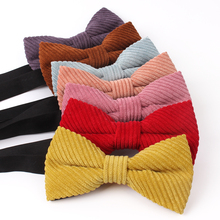 NEW Bow Tie Classic Shirts Bowtie For Men Business Wedding Bowknot Adult Solid Color Bow Ties Cravats Candy Color Ties