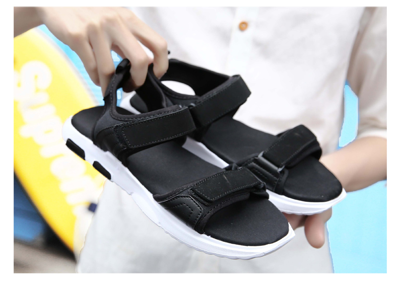 448fd721db3 Summer Fashion New Style Men Sandals Comfortable Breathable Casual ...