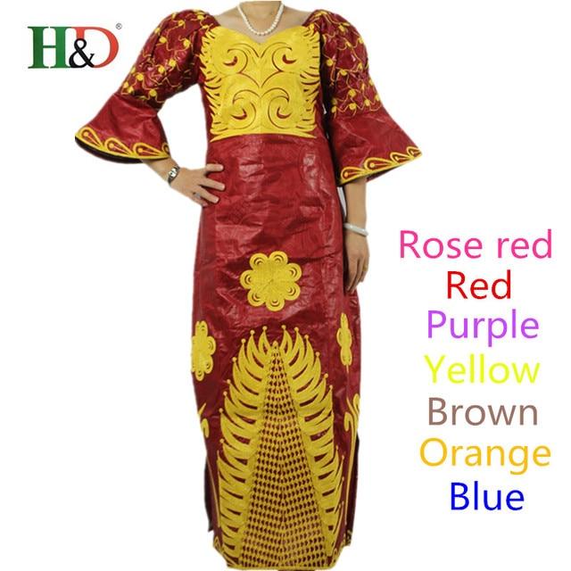 Бесплатная Доставка Африканский Мода Дизайн Базен Riche леди традиционный Макси-Платья Ткани Dashiki Африке Платья Для Женщин S2311