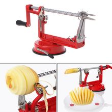 Stainless Steel 3 in 1 Apple Peeler Fruit Peeler Slicing Machine Apple Fruit Machine Peeled Tool