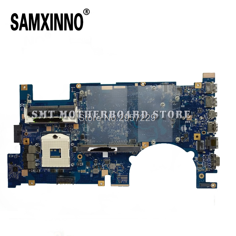 For Asus Laptop Motherboard System Board Main Board Mainboard Card Logic Boar G75V G75VW REV2.0 2D Connector PGA989 Tested Well d05021b maine board fittings of a machine tested well original