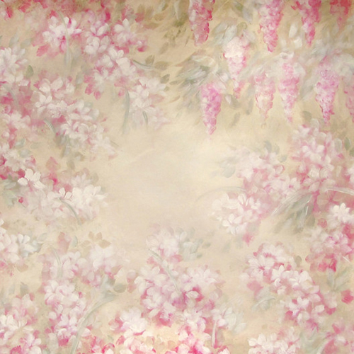 5x10ft cotton polyester photography backdrop flower wallpaper backdrops for baby shower photo booth D-8576