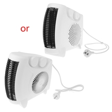 Mini Electric Heater Portable Space Home Office Winter Warmer Fan Air Heater цена и фото