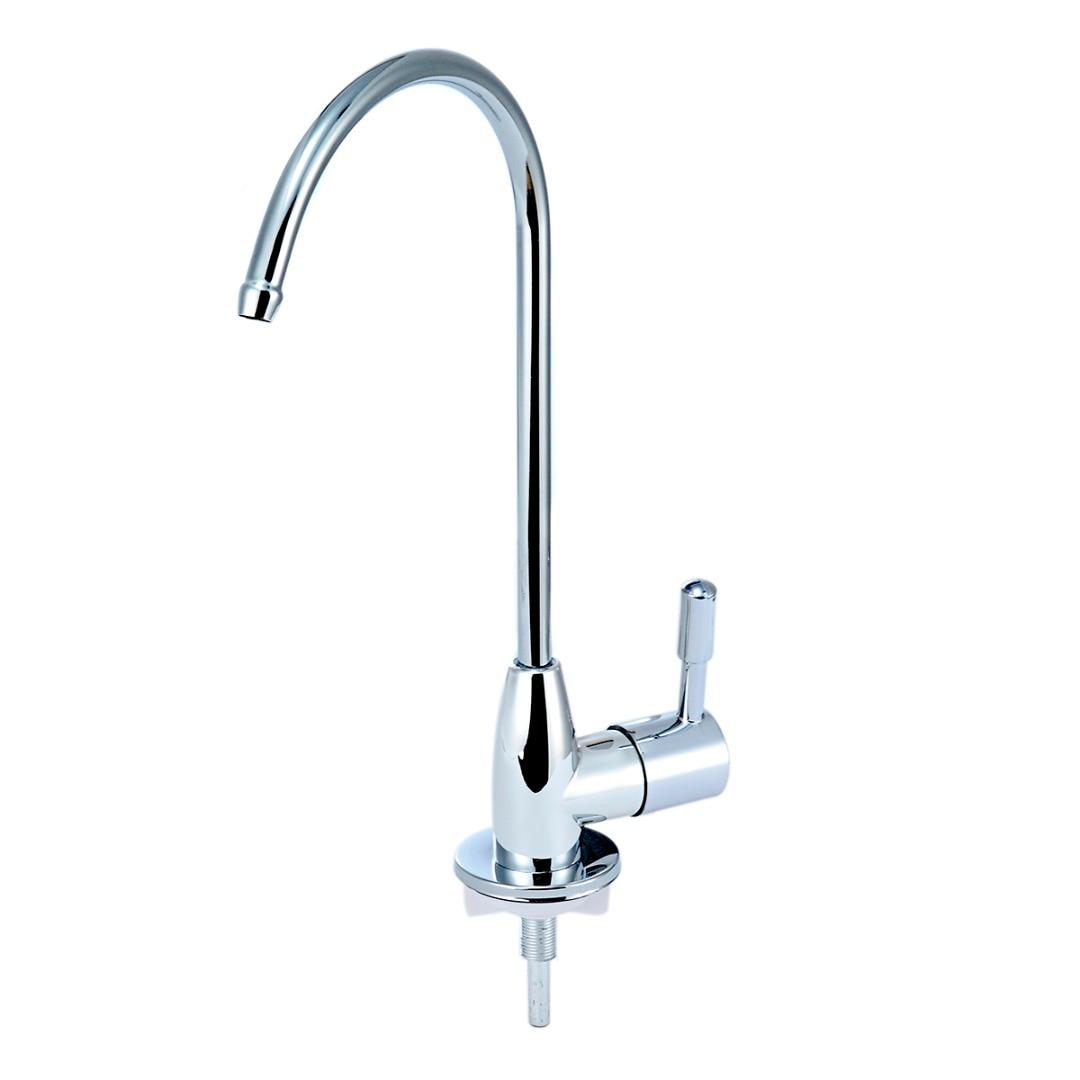 Высокое качество 1/4 фильтр для воды коснитесь кухонный кран питьевой воды нержавеющая сталь покрытие раковина смеситель для кухни, аксесс...