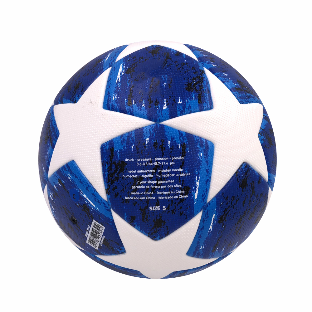 PU Durable Football Size 6 7 for Youth Junior Foam Kid Toy Footballs