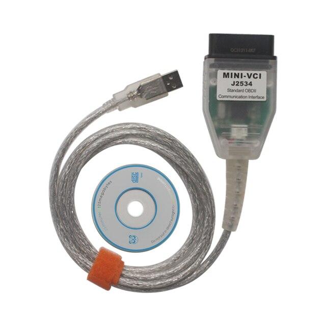 Multidiagpro MINIVCI für TOYOTA Einzigen Auto Diangnostic Kabel V10.30.029 Unterstützung für Lexus/Toyota TIS Soem-diagnose-software