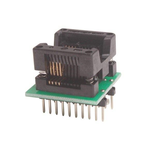 Универсальный SOP8P лапками углублением SOP-8 SOP-8P(208MIL) ZIF, разъем адаптера