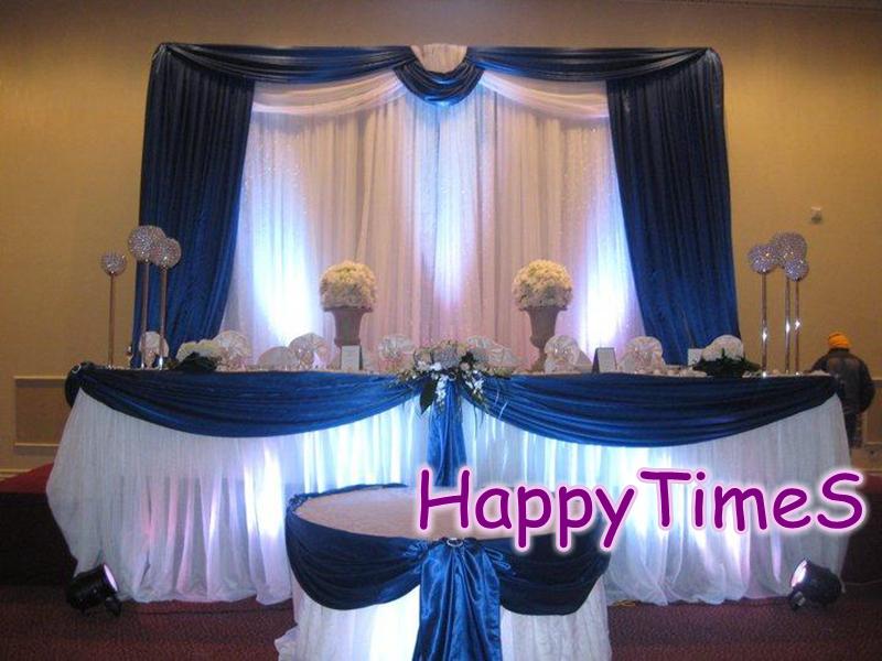 m de fondo de la boda de eventos guirnaldas y emparejado cortina