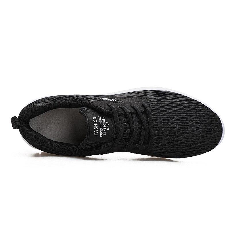 Léger Casual De New Plus Hommes Taille Coolvfatbo Maillage 47 38 Grand Eur Respirant Super Noir Summer Chaussures Marche Complet YAwx1
