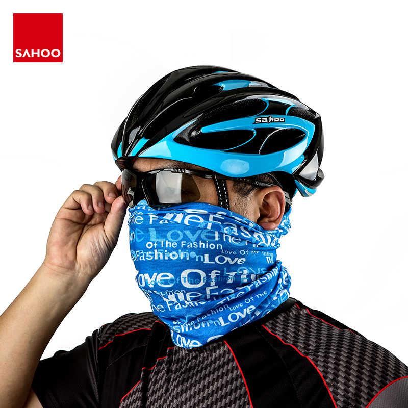 Sisifa Unisex Mouth Bandana 2pcs Bike Face Bandana With 4pcs Filter And 8 Soft Foam Mats