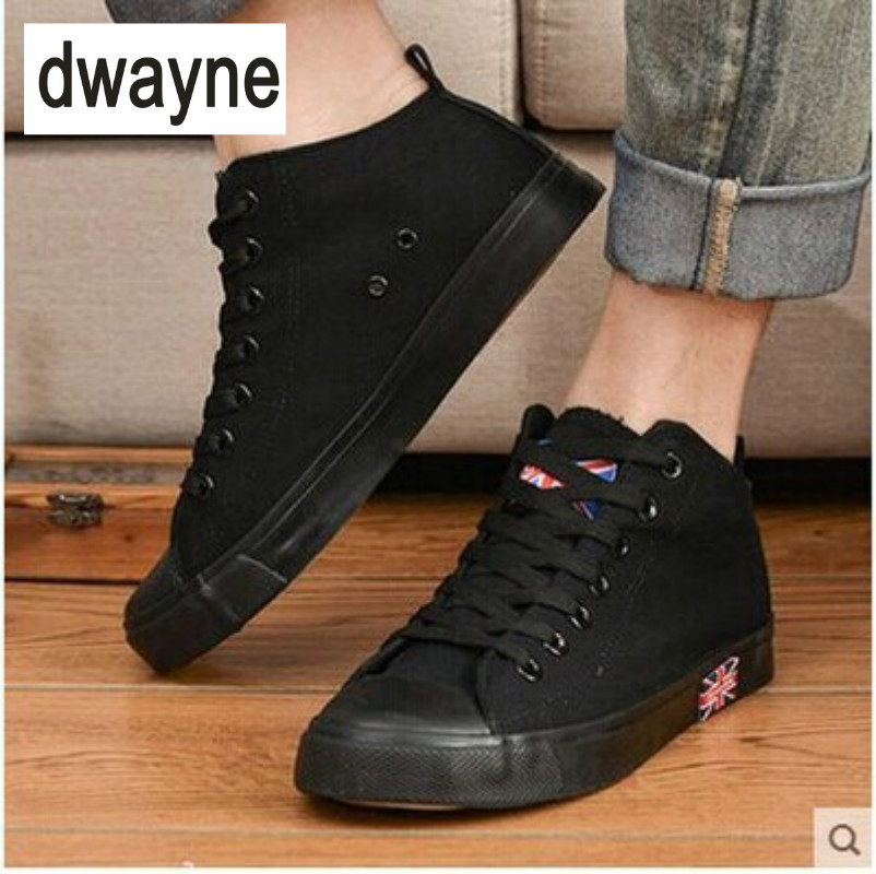 Men's Shoes Dwayne Mens Vulcanize Shoes Men Spring Autumn Top Fashion Sneakers Lace-up High Style Solid Colors Man Shoes Discounts Sale Shoes