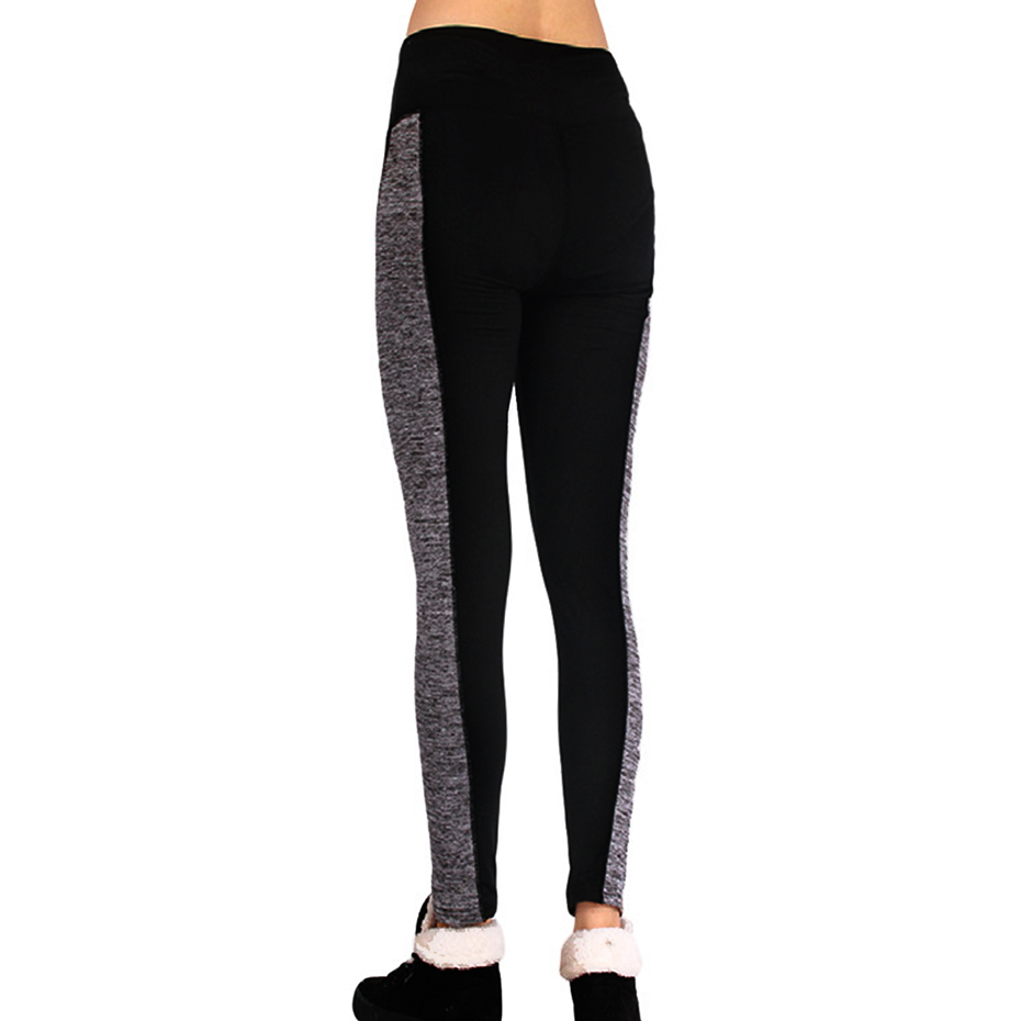 Women Skinny Fitness Leggings Causal Slim Ultra-thin Autumn High Waist Patchwork Legging Elastic Work Out Leggings pencil Pants