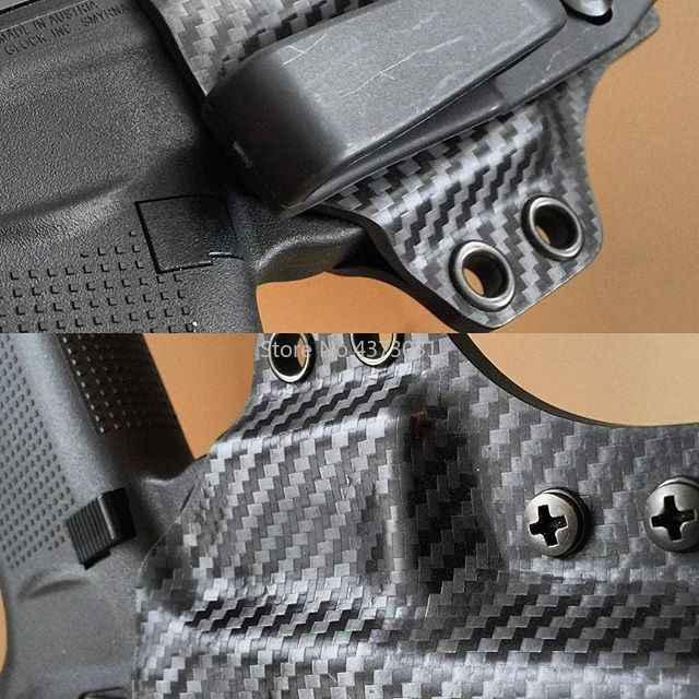 1 pieza Kydex K vaina tablero termoplástico Importación de América fibra de carbono serpiente sarga para DIY cuchillo K funda