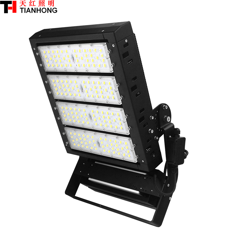 IP65 Out porte LED Haute Mât Lampe stade éclairage d'inondation lumière AC85-305V haute-pôle lampe 400 w led carré lampe