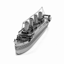 3D Metal Puzzles DIY Model Gift World's Ship   Jigsaws Toys Present Gift Titanic
