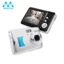 On sale MEMTEQ 18.0MP CMOS 2.7″ Digital Camera TFT LCD Monitor 8X Digital Zoom Take Photo HD Video Face Detection Camera Anti-shake