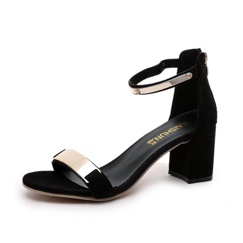 Gladiator Sandals Glitter High-Heels Women Wedding-Shoes Zippers Bling Party
