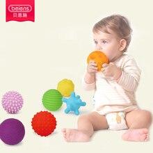 Beiens 6-10pcs Weiche Kugel Texturierte Multi Ball Set Entwickeln Babys Tastempfindliches Spielzeug Baby Touch Hand Ball Spielzeug Baby Training Ball