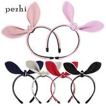 Best selling rabbit ears headband children's hair accessories headdress handmade jewelry hair clips цены