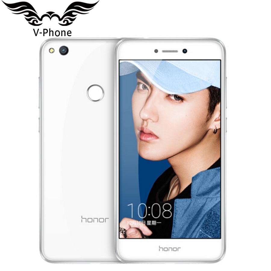 "In Stock Original Huawei Honor 8 Lite 4G LTE Mobile Phone 4GB RAM 32GB ROM Kirin 655 Octa Core 5.2"" FHD 1920*1080P 12MP 3000mAH"