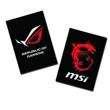 Wykonana na zamówienie pokrywa na światła płyty montażowej SSD rozmiar 70x100mm 4Pin zastosowanie do komputera SSD chłodzenie wyświetlacza chłodzenie cieczą