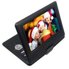 LONPOO 10,1 дюймов портативный dvd плеер TFT ЖК экран мультимедийный DVD плеер с автомобильным зарядным устройством и функцией игры Поддержка DVD/CD/MP3