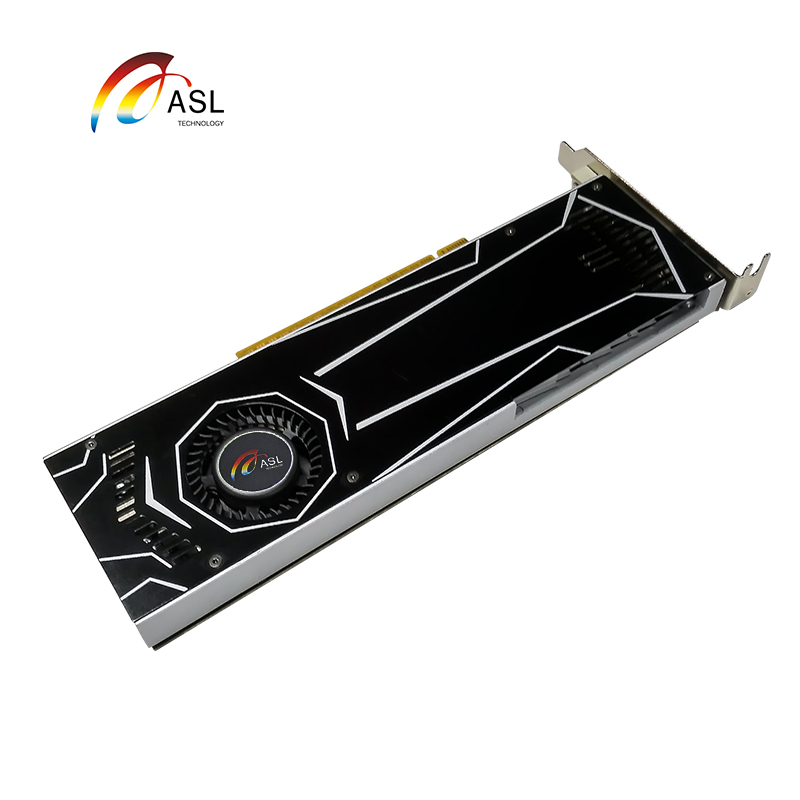 New Graphics Card ASL GT1050ti 4G GDDR5 128bit Video Cards for nVIDIA Geforce GT 1050ti Hdmi Dvi game image
