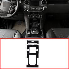 Cadre de changement de vitesse pour Land Rover Discovery 4 LR4 2010 – 2016, ABS brillant noir, Console centrale, accessoires de garniture