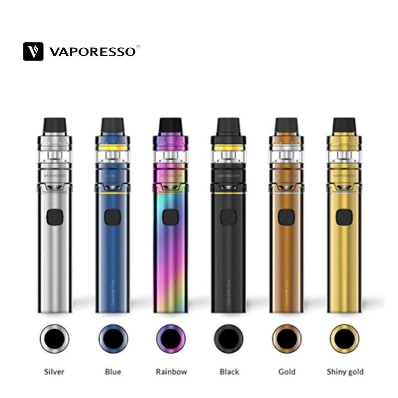 Vaporesso Cascade un Kit Vape Pod 3.5 ml capacité 0.18ohm résistance GT maille bobine goutte à goutte pointe 510 Vaporesso Cigarette électronique