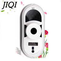 JIQI Rechargable High Suction Window Cleaning Robot Anti falling Remote Control Electric Automatic Glass Vacuum Cleaner EU US