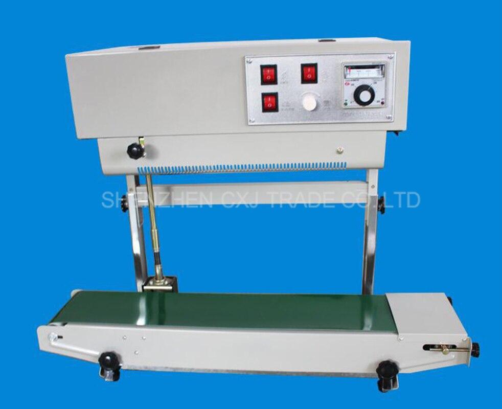 1 pcs Verical FR-900 máquina de selagem, saco de plástico máquina de solda, aferidor vertical para o pacote de líquido ou pastoso