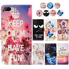 "Fashion PU Leather Flip Print Wallet Case For BQ BQ-5511L Bliss Case Cover Book Case 5.5"" Ultra-thin Phone Cover(China)"