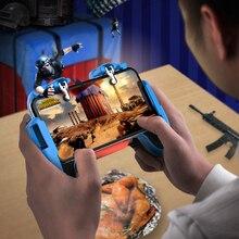 ذراع تحكم للعبة PUBG لهاتف iPhone وأندرويد مزود بزر تصويب للعبة PUBG عصا تحكم L1R1 لملحقات لوحة ألعاب