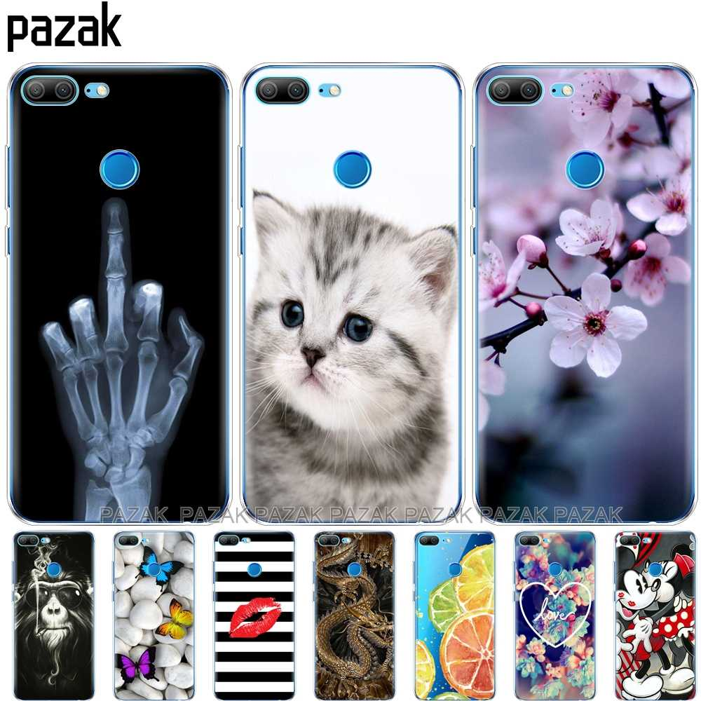 Silicone phone Case For huawei honor 9 honor 9 lite cases soft TPU Phone Back cover full 360 Protective new design pop