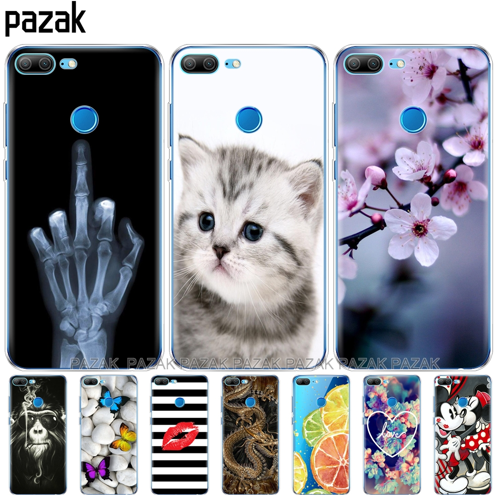 Silicone phone Case For huawei <font><b>honor</b></font> <font><b>9</b></font> <font><b>honor</b></font> <font><b>9</b></font> <font><b>lite</b></font> cases soft TPU Phone Back cover full 360 Protective new design pop image