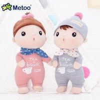 Metoo 12 Inch Pluche Zoete Leuke Mooie Kawaii Gevulde Baby Kinderen Speelgoed voor Meisjes Kinderen Verjaardag Kerstcadeau Pop