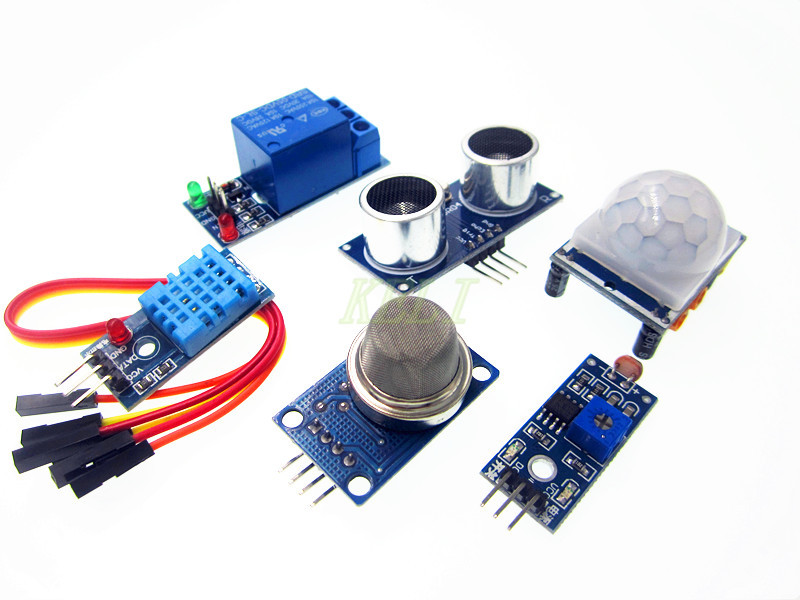 6 IN 1 Sensor Kits for Raspberry Pi Model 3 The latest product HIGH-QUALITY